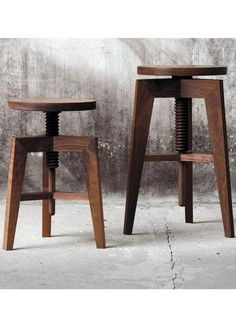 SCREW BENCH SMALL - Designer Stools from MINT Furniture ✓ all information ✓ high-resolution images ✓ CADs ✓ catalogues ✓ contact information ✓.