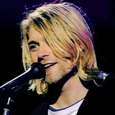 """I want to be passionate and sincere, but I also want to have fun and act like a dork."" → yeah, Kurt, I feel ya."