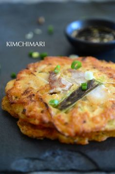 Bindaetteok (Korean mung bean pancake) is such a great hearty pancake to have - especially with Makgeoli!!