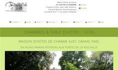 Le Clos de la Garenne   Chambres d'hôtes de charme entre La Rochelle  Rochefort et le Marais Poitevin     - Puyravault, Charente-Maritime, Poitou-Charentes