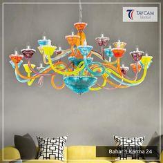 Modernden klasiğe, ışıl ışıl parlayan avizeler, yaşam alanlarınızı taçlandıracak! Ürünü Detaylı İncelemek İçin Linke Tıklayınız: http://bit.ly/2fgO3Fi #tavcam #tavcamavizeaydınlatma #tavcamavize.com #baharserisi #colorful #chandelier #evdekorasyonu #decoration #exclusive #handmade #Turkey