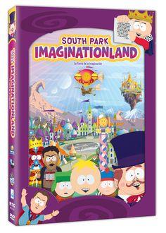 Diseño publicitario de DVD's - Stop Diseño Gráfico - Diseño de South Park - Imaginatioland - Comedy Central - Televisa.