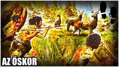 Gyorstalpaló 1. - Az őskor Historia Universal, Early Humans, Moose Art, Painting, Animals, Facebook, Videos, Art Production, Dibujo