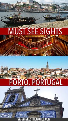 Porto is a beautiful city in Portugal. There are so many things to see and do in Porto, so we thought we would help you out with this handy Porto guide. Click here to check out where to stay in Porto, what to eat in Porto, and things you need to see and do during your stay. Don't forget to save this to your travel board!