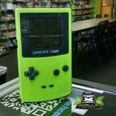 What color was your Game Boy Color? #Rero #Nintendo