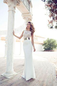 Vestido Novia Julie Vino 619-2