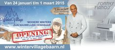 Winter Village Baarn opening met Sonny's Piano's
