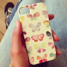 Iphone case Butterfly - Society6 by Studio Sjoesjoe