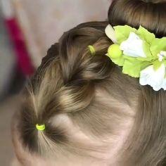 Do you like this hair tutorial? - Do you like this hair tutorial? Easy Toddler Hairstyles, Easy Little Girl Hairstyles, Baby Girl Hairstyles, Easy Hairstyles, Short Hairstyles For Kids, Cute Little Girl Hairstyles, Princess Hairstyles, Girl Hair Dos, Wacky Hair