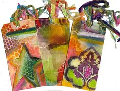 Amazing tutorials to make Altered Art Tags