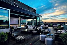 Toronto's Most Notable Hotel Patios (pinned from Stylicity partner Thompson Hotel)