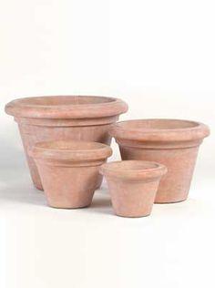 Pots: Plain Patio Pot, Extra Large~Reseda  SKU: 659-PX