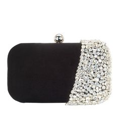 Black Clutch, Coin Purse, Wallet, Metal, Grey, Designer, Clutches, Bags, Stuff To Buy