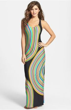 Trina Turk 'Sombrero' Cover-Up Maxi Dress Swimsuit Cover Up Dress, Corporate Chic, Trina Turk, Nordstrom Dresses, Fashion Advice, Poplin, What To Wear, Personal Style, Swimsuits