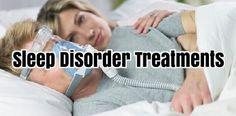 Sleep Disorder Treatments #SleepAid