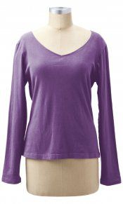 Earth Creations - V-Neck Top comes in celery $45