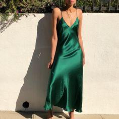 1ee3000ade7b 8 Best Slip dress silk bronze images   Formal dresses, Satin dresses ...