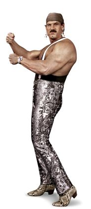 """Jesse """"The Body"""" Ventua  Height: 6'2""""  Weight: 245 lbs.  From: Brooklyn Park, Minn.   Signature Move: Body Breaker  Career Highlights: AWA World Tag Team Champion; 2004 WWE Hall of Fame Inductee"""