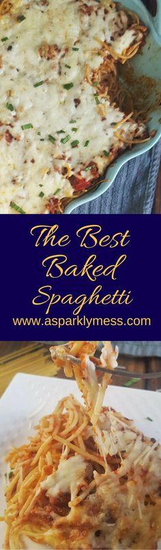 best baked Spaghetti