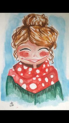easy cute girl sketch for begginers #result for easy girl sketches and watercolor drawings