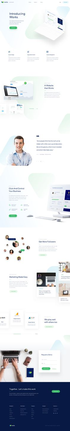 Landing Page Works
