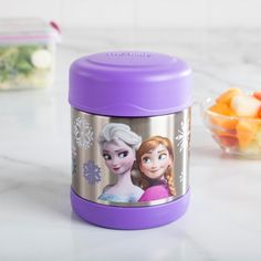 Whether you're keeping soup hot or keeping a tiny Olaf cold, the Thermos Food Storage Jar will work for you. With a durable stainless steel interior and exterior, extra wide mouth and vacuum sealed double wall insulation, you'll love this Thermos jar. Jar Storage, Food Storage, Knife Block Set, Wall Insulation, Bakeware, Olaf, Kitchen Gadgets, Lunches, Interior And Exterior