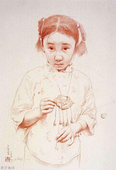 Những tác phẩm hình họa của Wang Yidong - How To Draw Library