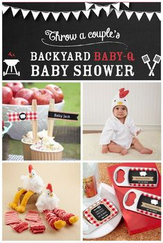 baby q baby shower party ideas favors bbq sauces and baby showers