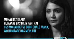 Image result for ae dil hai mushkil quotes