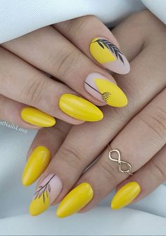 48 Hot Short Acrylic Almond Nails Design You Must Try - Fashion Lifestyle Blog