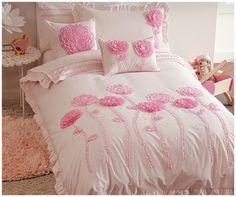 15 best flower bedding images on pinterest floral bedding bed floret pink quilt cover set mightylinksfo