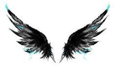 Ink wings tattoo by Gammatrap