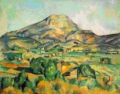 Paul Cézanne, Mont Sainte-Victoire, 1904-6, Oil on Canvas