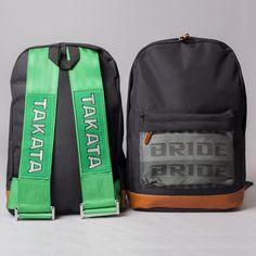 Takata Backpack Green Harness Racing Seats b1fc1957c568e