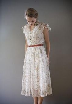 Anyone else noticing Depression Era clothing is hot? At least that's one good thing about the recession.