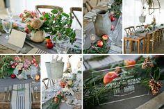 Harvest Inspired Wedding Shoot