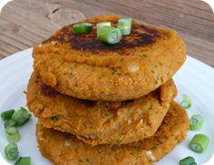 Galettes de pois chiches et patates douces (Vegan, Gluten-free)