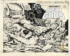 Jack Kirby's New Gods, Issue 3, Cover