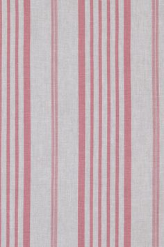 "Faded Linen Stripe Soft Pink 140cm//54/"" Curtain//Craft Fabric"