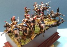 """""""The last charge"""" by Capitaine Danjou, showing French Carabiniers"""