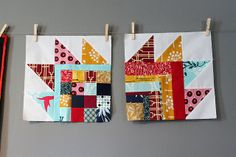 Fun bear claw blocks by Sara Peterson of Knotty Gnome Crafts.