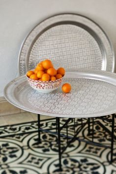 Traditional Round Moroccan Tray With Decorative Brass Edge Detail   Small |  Traditional, Etsy And Awesome