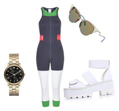 Untitled #11 by cirreaupshur on Polyvore featuring Marc by Marc Jacobs, Fendi and adidas