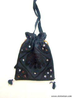 Sling Bag Handmade 2 color options Crossbody by StoreUtsavFashion