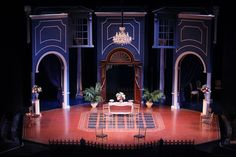 Set Design from Conservatory of Theatre Arts, St. Louis Mo 2012.
