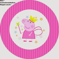 Place a wedding that is certainly basic, stylish, as well as fantastic! Little piggies will Peppa Pig Princesa, Cumple Peppa Pig, Pig Birthday Cakes, 2nd Birthday Parties, Princess Peppa Pig Party, Pippa Pig, Peppa Pig Imagenes, Peppa Pig Printables, Fairy Templates
