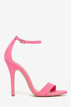 Nasty Gal Adore Heel - Pink | Shop Heels at Nasty Gal