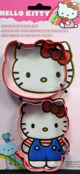 This Hello Kitty cookie cutter has two different cookie cutters for Hello Kitty. You get the Hello Kitty face cookie cutter and a full body cookie cutter. You can make great Hello Kitty cookies with these. These cookie cutters measure to Twin Birthday Parties, 5th Birthday Party Ideas, Toy Story Birthday, Mickey Mouse Birthday, 2nd Birthday, Minnie Mouse, Hello Kitty Cookies, Hello Kitty Themes, Wonderful Day