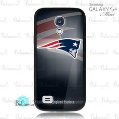 New England Patriots NFL Team Logo Samsung Galaxy S4 Mini Case | Bahamaz - Accessories on ArtFire
