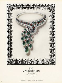 Mauboussin (Jewels) 1948 S. Markovitch Necklace